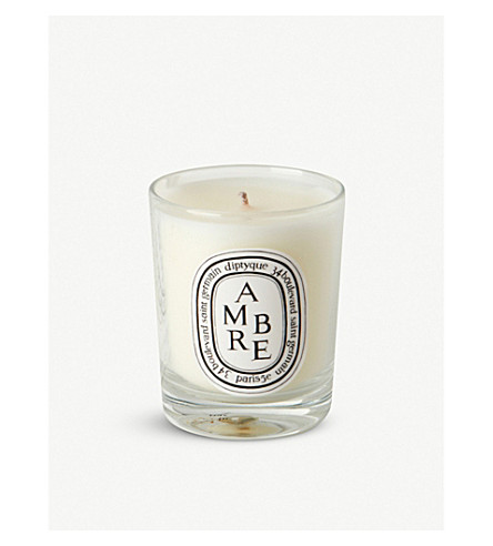 DIPTYQUE Ambre mini scented candle