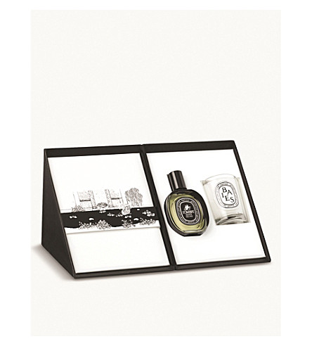 DIPTYQUE L'ombre Dans L'eau and Baies candle set