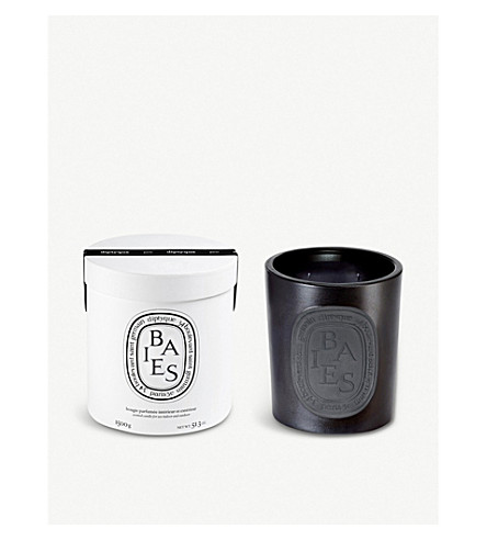 DIPTYQUE Baies noir large candle indoor and outdoor edition 1500g