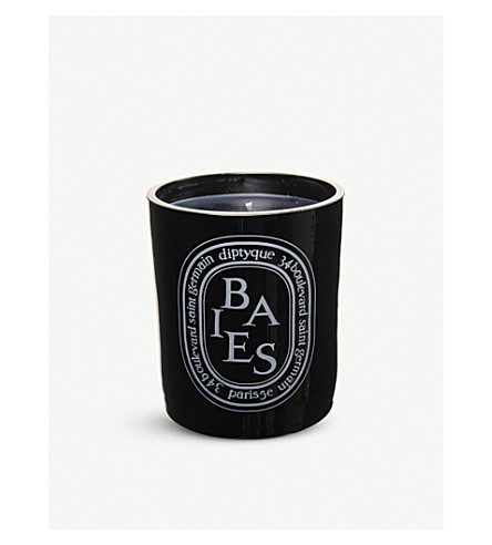 DIPTYQUE Baies noir large scented candle