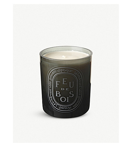 Diptyque feu de bois large scented candle 300g for Where to buy diptyque candles