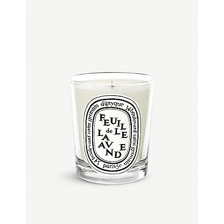 DIPTYQUE Feuille de Lavande mini scented candle