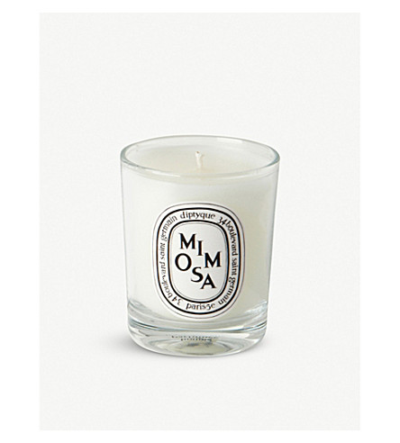 DIPTYQUE Mimosa mini scented candle