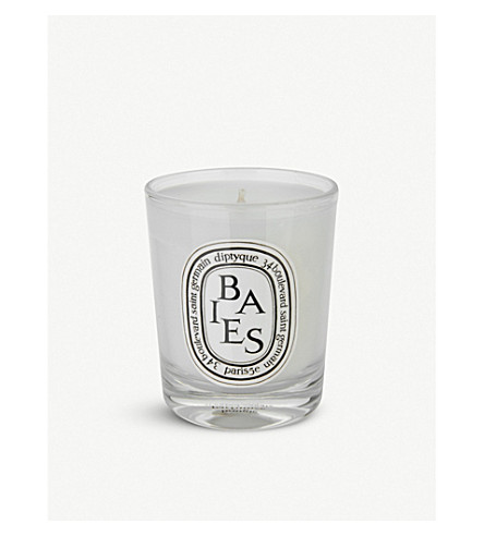 diptyque baies mini candle selfridgescom