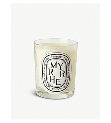 DIPTYQUE Myrrhe 香薰蜡烛