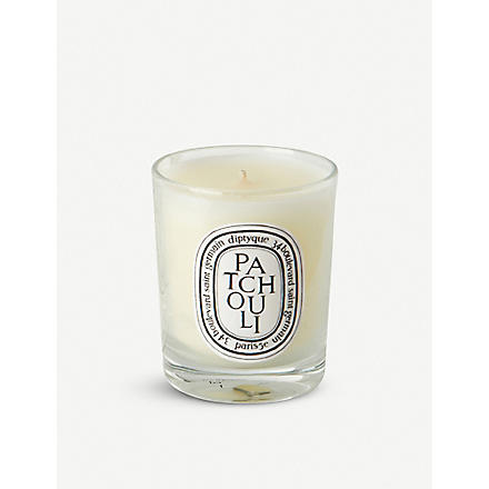 DIPTYQUE Patchouli mini scented candle