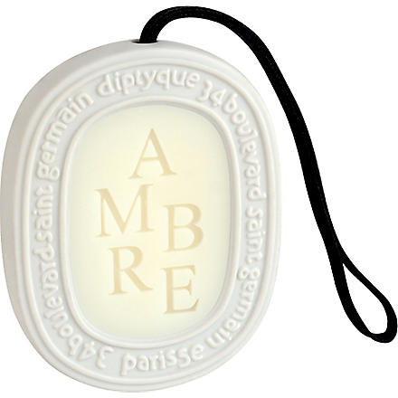 DIPTYQUE Ambre scented oval
