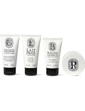 DIPTYQUE Art of Body Care travel set