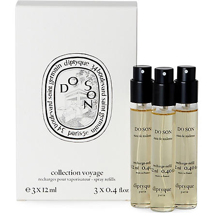 DIPTYQUE Do Son travel spray set