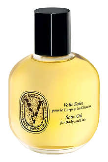 DIPTYQUE Satin oil for body and hair 100ml