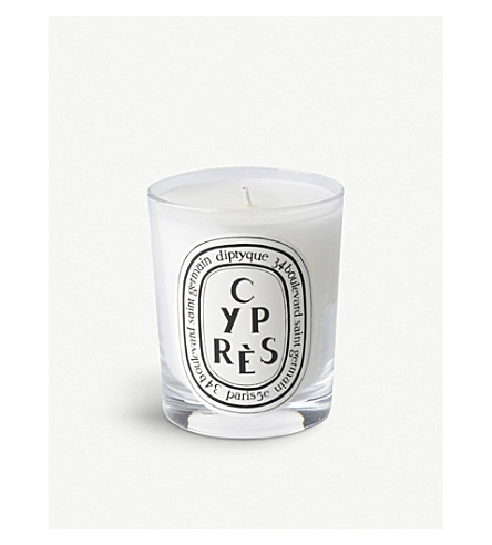 Diptyque cypres scented candle for Where to buy diptyque candles