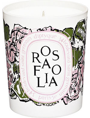 DIPTYQUE Rosafolia scented candle 190g