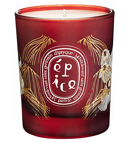 DIPTYQUE Épice Winter Collection 2014 candle 70g