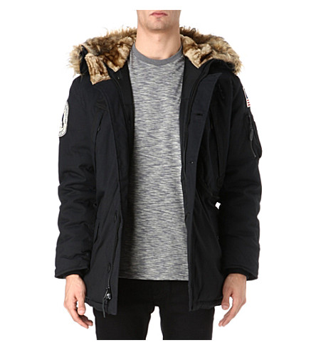 ALPHA Polar parka jacket (Black