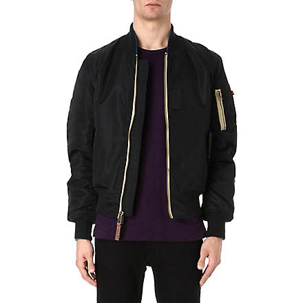 ALPHA MA-1 flight jacket (Black