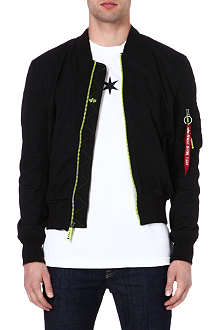 ALPHA MA-1 soft-shell bomber jacket