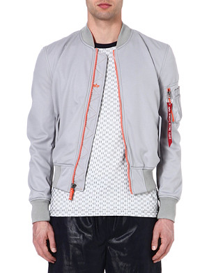 ALPHA MA-1 soft-shell bomber jacket