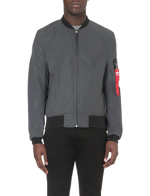 ALPHA Reflective bomber jacket