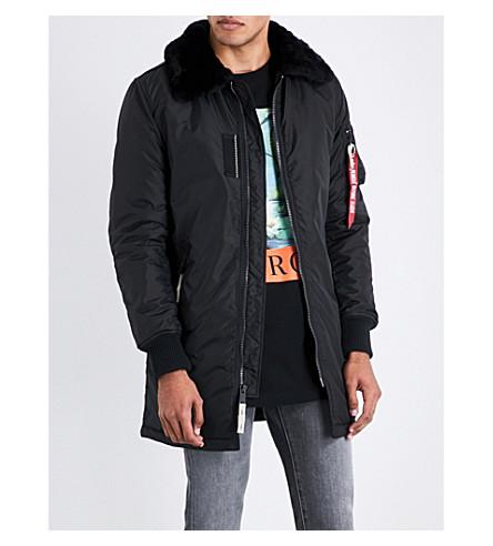 ALPHA INDUSTRIES Injector padded jacket (Black
