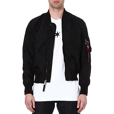 ALPHA MA-1 TT bomber jacket (Black