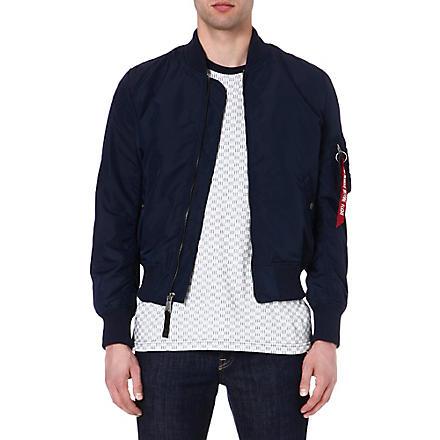 ALPHA MA-1 TT bomber jacket (Repl. blue
