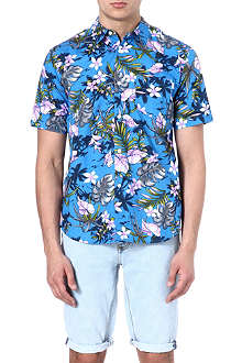 STUSSY Short sleeve floral shirt