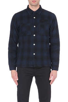 STUSSY Hombre checked overshirt