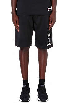 STUSSY One World mesh shorts