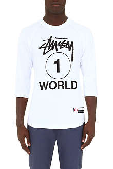 STUSSY One World top