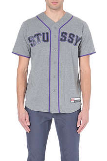 STUSSY Baseball cotton top