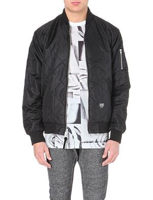 STUSSY Polyester bomber jacket