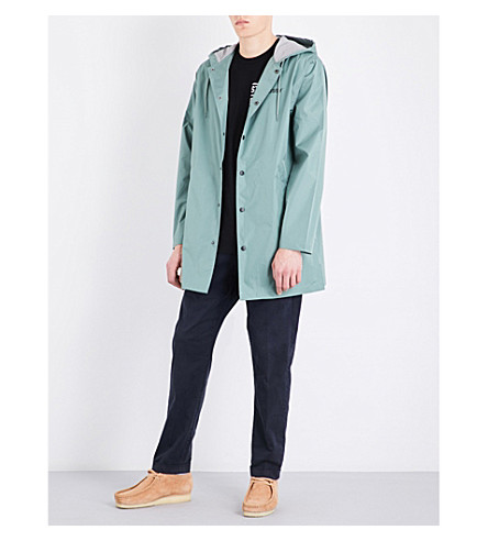 STUSSY Hooded shell jacket (Olive