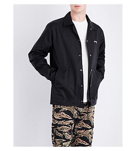 STUSSY Summer shell coach jacket (Black