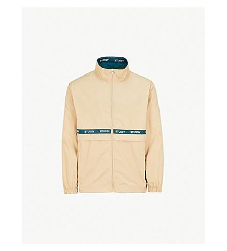 STUSSY Lewis woven track jacket (Beige