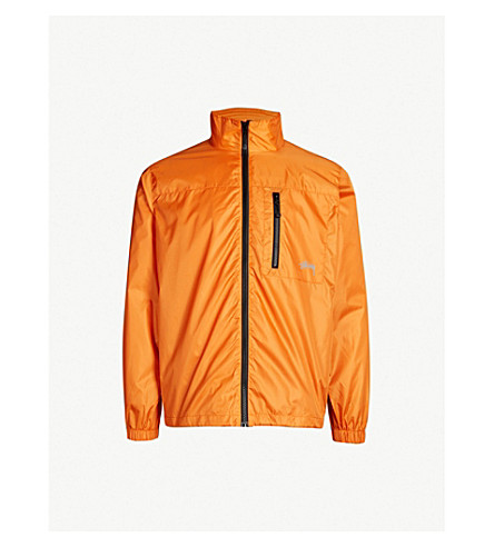 STUSSY Shell jacket (Orange