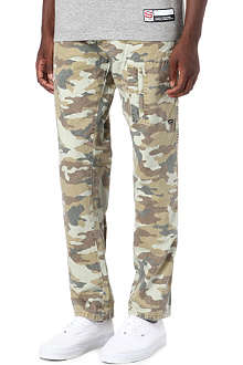 STUSSY Summer Camo trousers