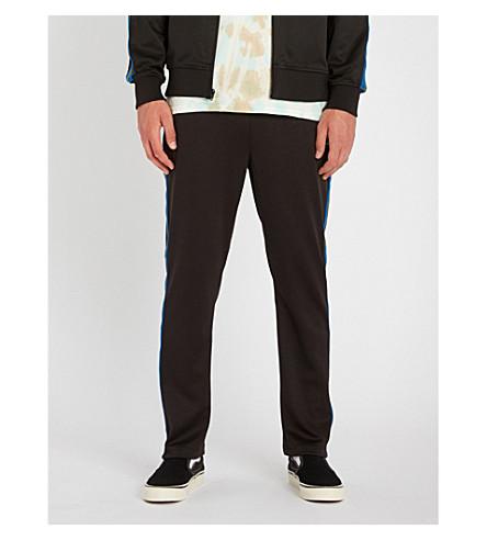 STUSSY 常规版型直平纹针织面料慢跑裤 (黑色