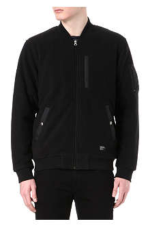 STUSSY Polar fleece MA1 jacket