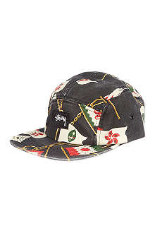 STUSSY Flags camp cap