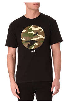 STUSSY Camo Circle t-shirt