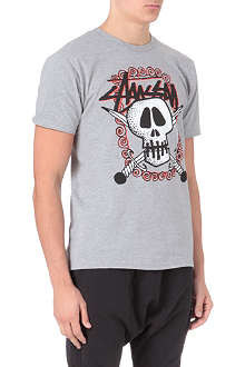 STUSSY Skull swords t-shirt
