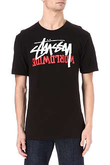 STUSSY Stock worldwide t-shirt