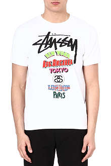 STUSSY On Tour t-shirt