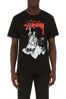 STUSSY Statue of Liberty t-shirt