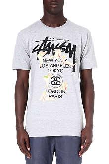 STUSSY Girls t-shirt