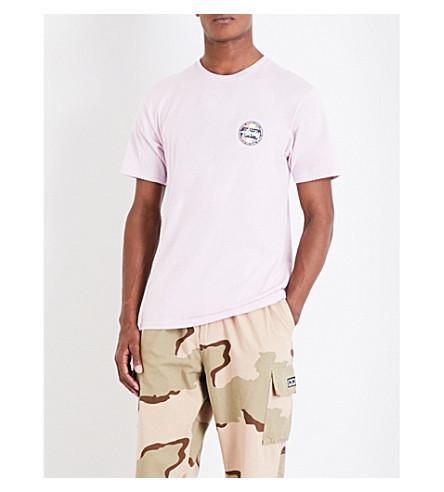 STUSSY Reggae Surf cotton-jersey T-shirt (Light+lavender