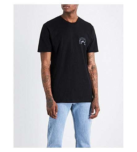 STUSSY Moon Girl cotton-jersey T-shirt (Black