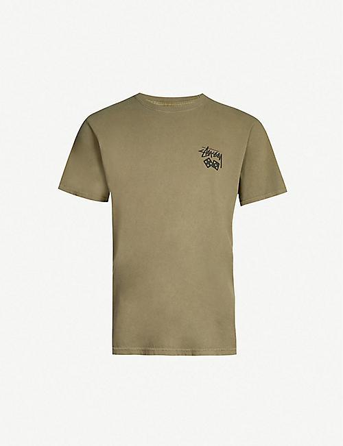 020dd459ee0f STUSSY - T-Shirts - Tops   t-shirts - Clothing - Mens - Selfridges ...