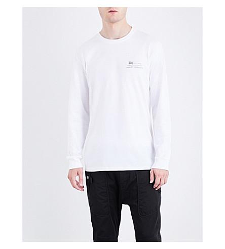 STUSSY Harumi Yamaguchi Raft cotton-jersey T-shirt (White