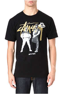 STUSSY MTV Erik B and Rakim t-shirt